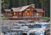 Rustic Homes / by dawn rogers