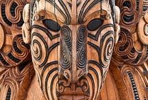 whakairo.rakau / maori wood carvings
