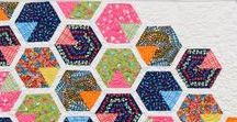 Happy hexagons / Inspiration to share for sewing, patchwork and quilting, curated by Love Quilting & Patchwork magazine