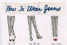 Jeans / Since moving back to Maine we find we wear jeans a lot.  This board is all about finding the jeans that flatter your figure and not about the latest styles.