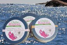 Dulse and Rugosa, Natural Skincare / Farm fresh, hand crafted skincare with the addition of nourishing and sustainably harvested Maine seaweeds.  From our island farm to your skin.