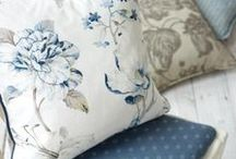 Fabrics / Inspiration for your new curtains, Roman blinds and other soft furnishings