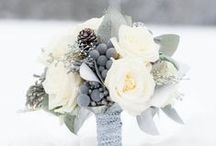 Winter weddings / Types of flowers we have produced and others that we like to add a splash of colour for your white wedding.
