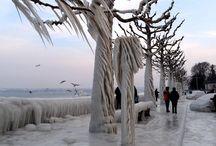 Glacial, féérique / Quand mère nature sculpte la glace et gèle tout. / by Françoise B..