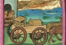 Medieval vehicles