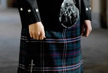 National Tartans / Wear your country with pride.