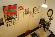 Art Display / リビングに キッチンに 寝室に こんな風に絵を飾っています!