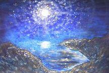 Night Sky / 星と夜空のアート