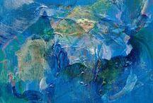 Blue Art / 「青」を印象的に使ったアート
