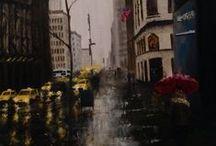 Rainy Day / 雨の日のアート