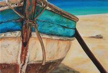 Boats / Dinghy's - beach life