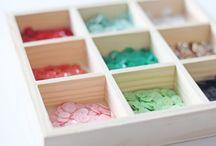 craft room / organizational / Love.