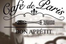 Cafės, bars,  bistrots, restaurants et patisseries / by Patricia Salençon
