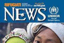 Rifugiati News / Storie e notizie tratte da Rifugiati News, la rivista sui rifugiati riservata ai donatori italiani di UNHCR.