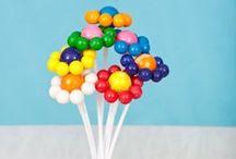 Parfum d'enfance / Un anniversaire sur un thème tout rond tout sucre