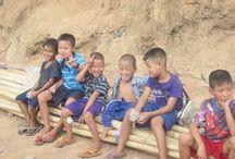 Tham Hin - Thailandia / Le foto della missione UNHCR al campo rifugiati di Tham Hin, in Thailandia.