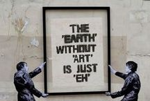 { street art } / Street, people, cities, art