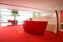 Desk reception