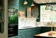 Philly Kitchen Inspiration / Ideas for the new galley kitchen in Philadelphia