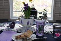 Afternoon Tea at Lavender Cottage