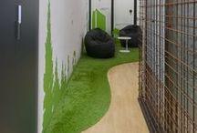 Hall d accueil/espace coworking_Société Crealead_Inspiration / Création pour la société Crealead, Coopérative d'entrepreneur à Montpellier