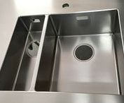 RVS Spoelbak stainless steel sink