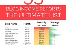 Blogging Income Reports / A collection of inspiring income reports from bloggers
