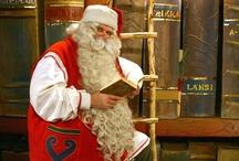 Babbo Natale in Lapponia / Il Babbo Natale in Lapponia in Finlandia è una delle persone più famose :-)