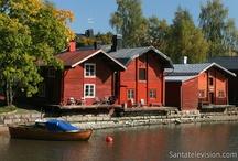 Finlandia turismo / La Finlandia è la terra d'origine di Babbo Natale. Scoprite l'inverno e l'estate nelle più belle destinazioni finlandesi. Visitate, per esempio, la capitale Helsinki, Porvoo, Tampere, Turku o la regione dei mille laghi.
