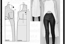 Sewing Tops / Refashion / Tutorials / Simple patterns