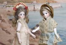 All-bisque dolls