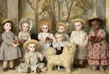 Dolls from the Odin collection at Musée de la Poupée-Paris