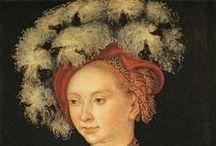 Lucas Cranach / oeuvres d'art de Lucas Cranach l'ainé et de son fils homonyme