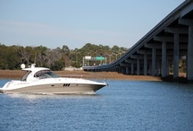 Palmetto Bay Marina / Established in 1959, Palmetto Bay Marina is the oldest marina on Hilton Head  Island, and is a full service Marina offering Dockage, Laundry Facility, Charters, Water Activities, Shopping, Restaurants, and Boat Repair.