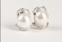 Perlenstecker / Perlenstecker aus Süßwasser-Zuchtperlen