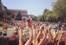 Sorority Recruitment Bid Day / #UNLGreek Sorority Recruitment.  / by University of Nebraska–Lincoln