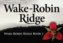 Wake-Robin Ridge Book 1 / Romantic Suspense set in the Blue Ridge Mountains. The story of two women starting their lives over in a small cabin, fifty years apart, and the decades old mystery that connects them. Find out how Sarah Gray unravels both the story of the cabin's previous owner, and the secrets the enigmatic recluse living on top of Wake-Robin Ridge is hiding. It's a journey you won't soon forget. Available for Kindle & in print, on amazon.com. Join me on Bookin' It: http://marciameara.wordpress.com/