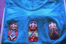Camisetas y apliques / Todo clase formas de decorar camisetas