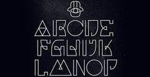Typographie / à retenir pour s'en inspirer