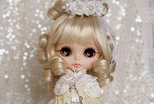 Exclusive Dolls - Kid & Junior / Chibi, Blythe, Madame Alexander Doll, American Girl Doll, Jane Bradbury et al non BJD / by Katherine St. Vincent 黄爱芬