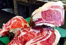 Nuestras carnes / Nuestras carnes de primerísima calidad.