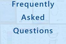 Frequently Asked Questions / Frequently Asked Dental Questions. What questions do patients  often ask our dentists? We'll give you the answers. Questions for the dentist.