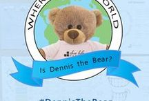 Where in the World is Slave Lake Dental? / Our Slave Lake Dental bear Dennis is making is way around the world! See where his adventures have taken him so far!