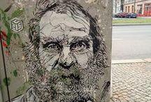 STREET ART (Arte Urbano) / Tablero donde inspirarse.Dedicado al arte urbano. El street art mas original, mas impactante.  Con la colaboración de: www.facebook.com/EL.LETRAS.TUBE/ sostallerartistico.blogspot.com