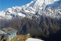 Voyager dans l'Himalaya / De L'Inde au Népal en passant par le Bouthan, sélection de trek, randonnée, ou de sites historiques à découvrir dans l'Himalaya