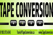 Tape Conversion / We convert VHS and other Media (MiniDV, VHS-C, 8mm, Hi8, Beta, 35mm Slides and Negatives, Audio Cassettes, Reels) and Transfer them to DVD, flash drive or an External Hard Drive.