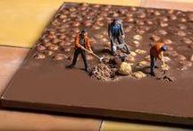 Schokolade und Kunst
