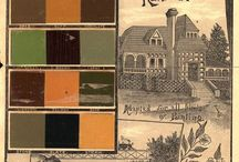 Paint and Interior Decoration: a Catalog History / A collection of vintage architectural trade catalogs about paint and interior decoration.