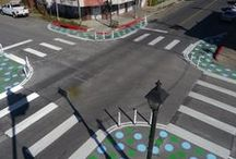 Sidewalks and crosswalks / Pedestrians, pavements and more  / by Mike Jackson, FAIA