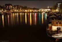 Amsterdam by night / Amsterdam by night, November 2013, The Netherlands